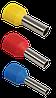 Наконечник-гильза Е1,0-12 (1012) 1мм2 с изолированным фланцем ИЭК
