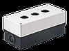 Корпус КП103 для кнопок 3места, Белый (BKP10-3-K01) IEK