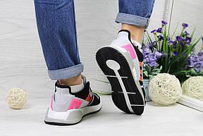 Летние кроссовки Adidas Equipment adv 91-17,серые с розовым, фото 2