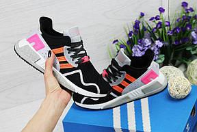 Летние кроссовки Adidas Equipment adv 91-17,серые с розовым, фото 3