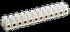 Зажим винтовой ЗВИ-3 н/г 1,0-2,5 мм2 12пар ИЭК черные