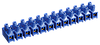 Зажим винтовой ЗВИ-3 н/г 1,0-2,5 мм2 12пар ИЭК синие
