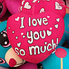 """Мягкая игрушка """"I love you so much!"""""""