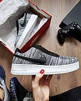 Кроссовки мужские Nike air force gray