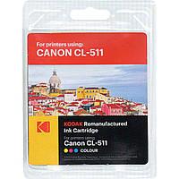 Картридж Canon CL-511, Color, iP2700, MP240/250/260/270/480/490, MX320/330/340/350, Kodak (185C051113)