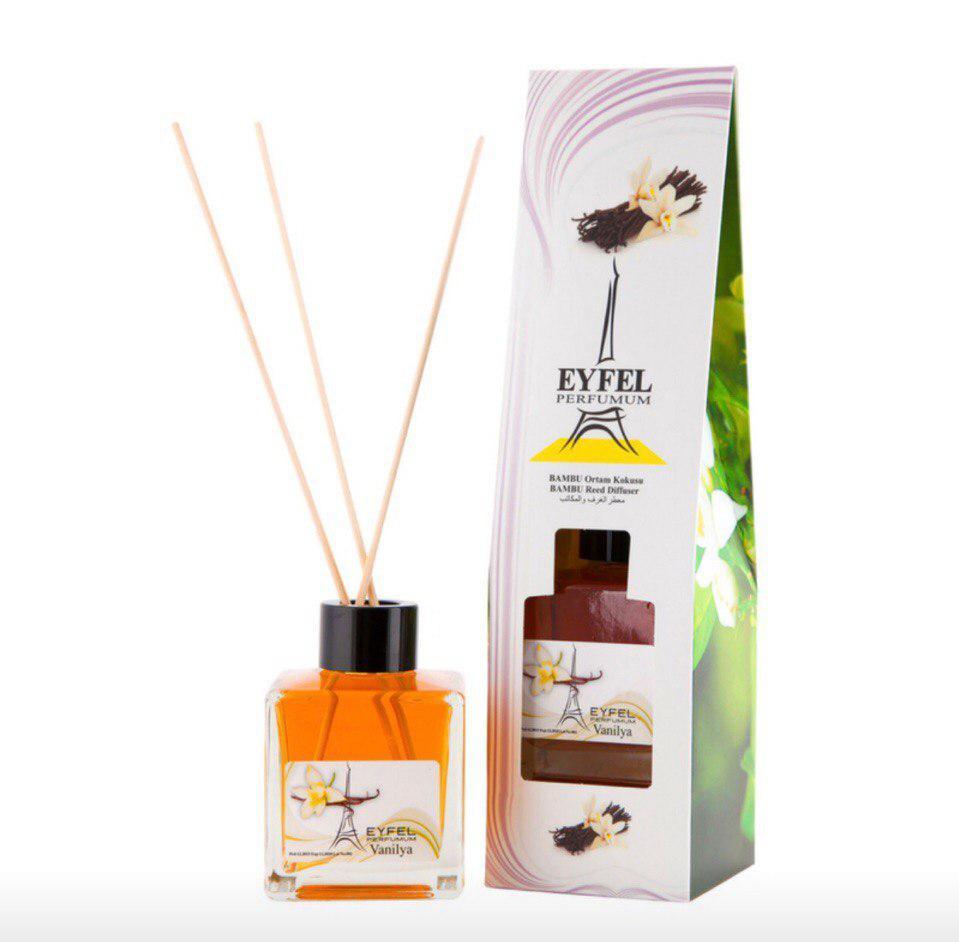 Аромадиффузор Eyfel парфюм для дома Ваниль 120 мл