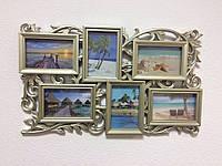 Мультирамка для фотографий на стену на 6 фото