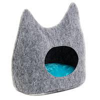 Дом - лежак Дрим для котов 44*28*45 ( PR240651)
