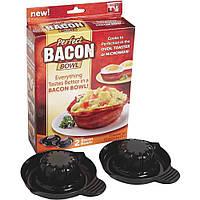 Формы для выпечки тарталеток Perfect Bacon Bowl, 2 шт