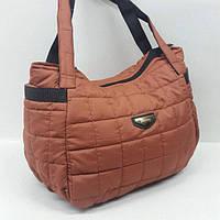 Стильная стеганая женская сумка, дутая