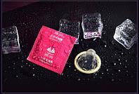 Презервативы гладкие клубника/натурал
