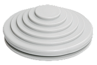 Сальник d=40мм (D отв.бокса 49мм) серый ИЭК