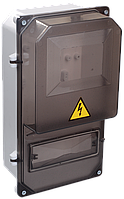 Корпус пластиковый ЩУРн-П 3/8 И для 3-ф имп. счетчика навесной 365х225х145 IP55