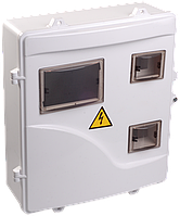 Корпус пластиковый ЩУРн-П 3/6 для 3-ф счетчика навесной 400х350х125 IP55