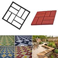 Формы для тротуарной плитки, форма для садовой дорожки, форма для создания садовых дорожек, 40x40, прямая