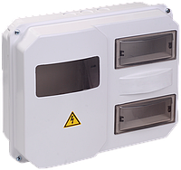 Корпус пластиковый ЩУРн-П 1/12 для 1-ф счетчика навесной 270х330х110 IP55