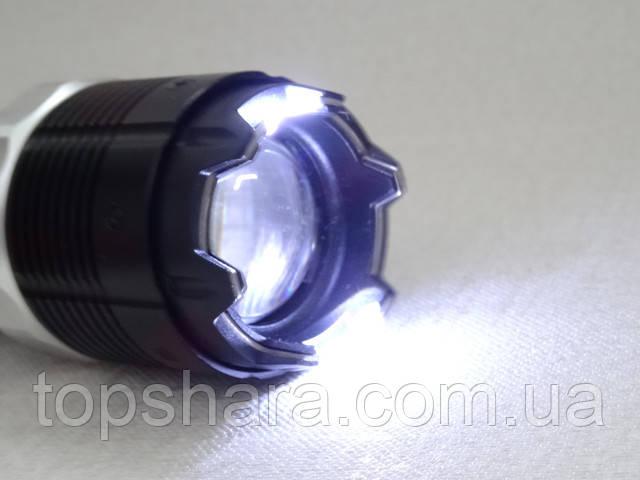 Электрошокер фонарик BL-1105 Police 158000KV с зумом