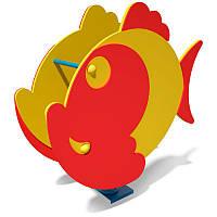 Детская качалка на пружине Рыбка