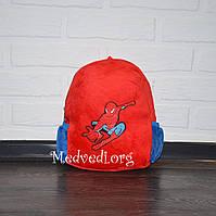 Детский плюшевый рюкзак Человек Паук для мальчиков