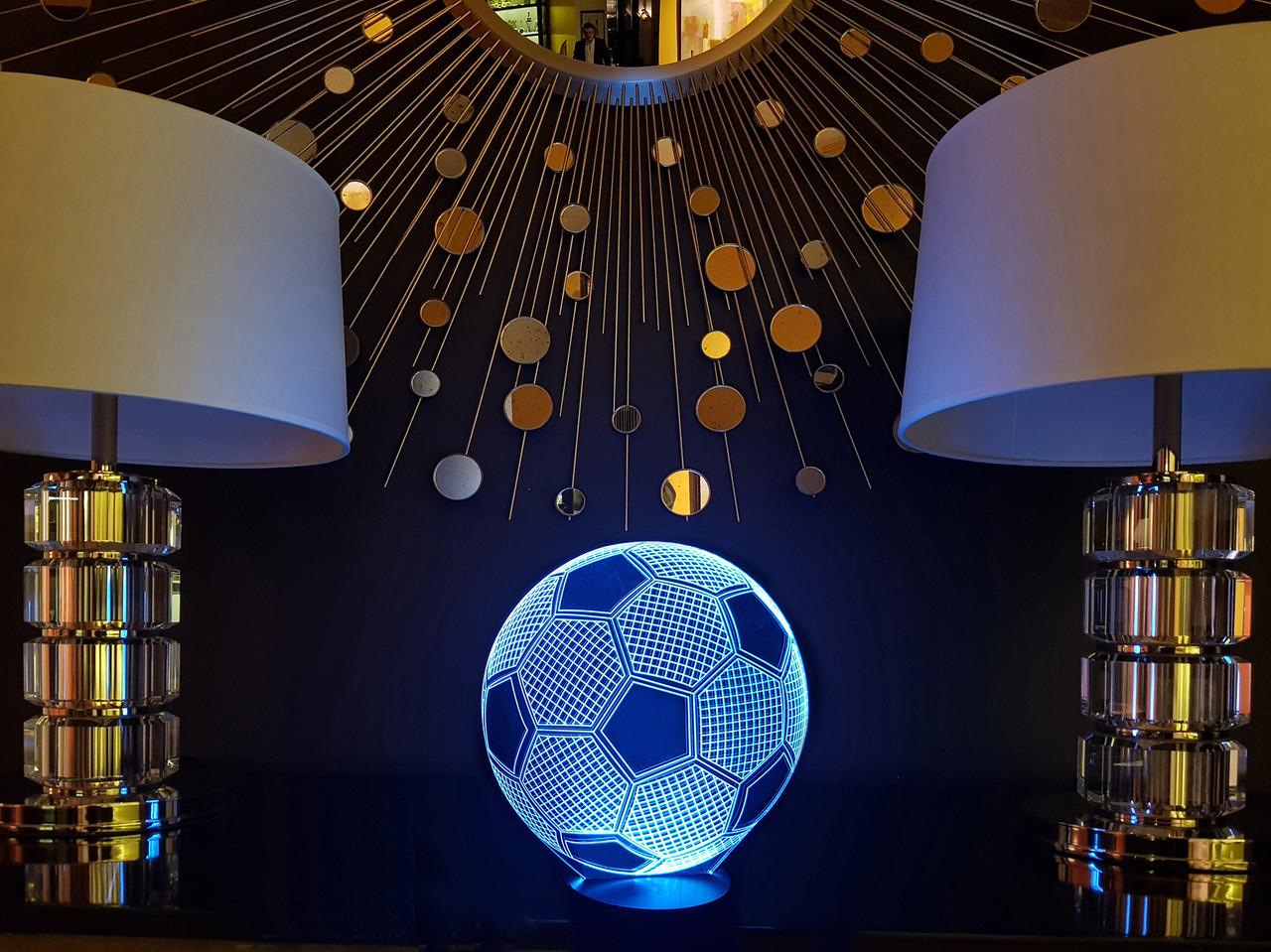 """3D светильник  """"Футбольный мяч"""" 3DTOYSLAMP, фото 1"""