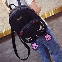 Милый рюкзак с мордочкой и лапками котика, цвета в наличии, фото 1