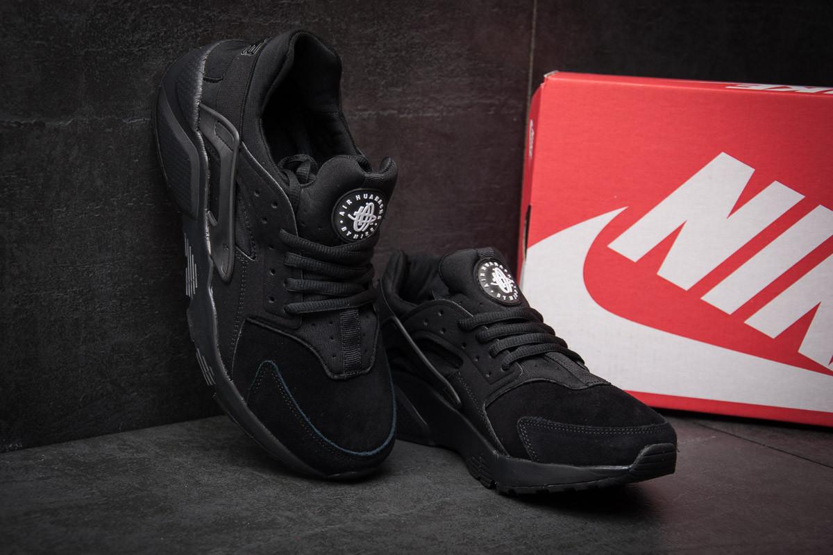 Кроссовки мужские Nike Huarache Ultra, черные (11442),  [  45 (последн 4