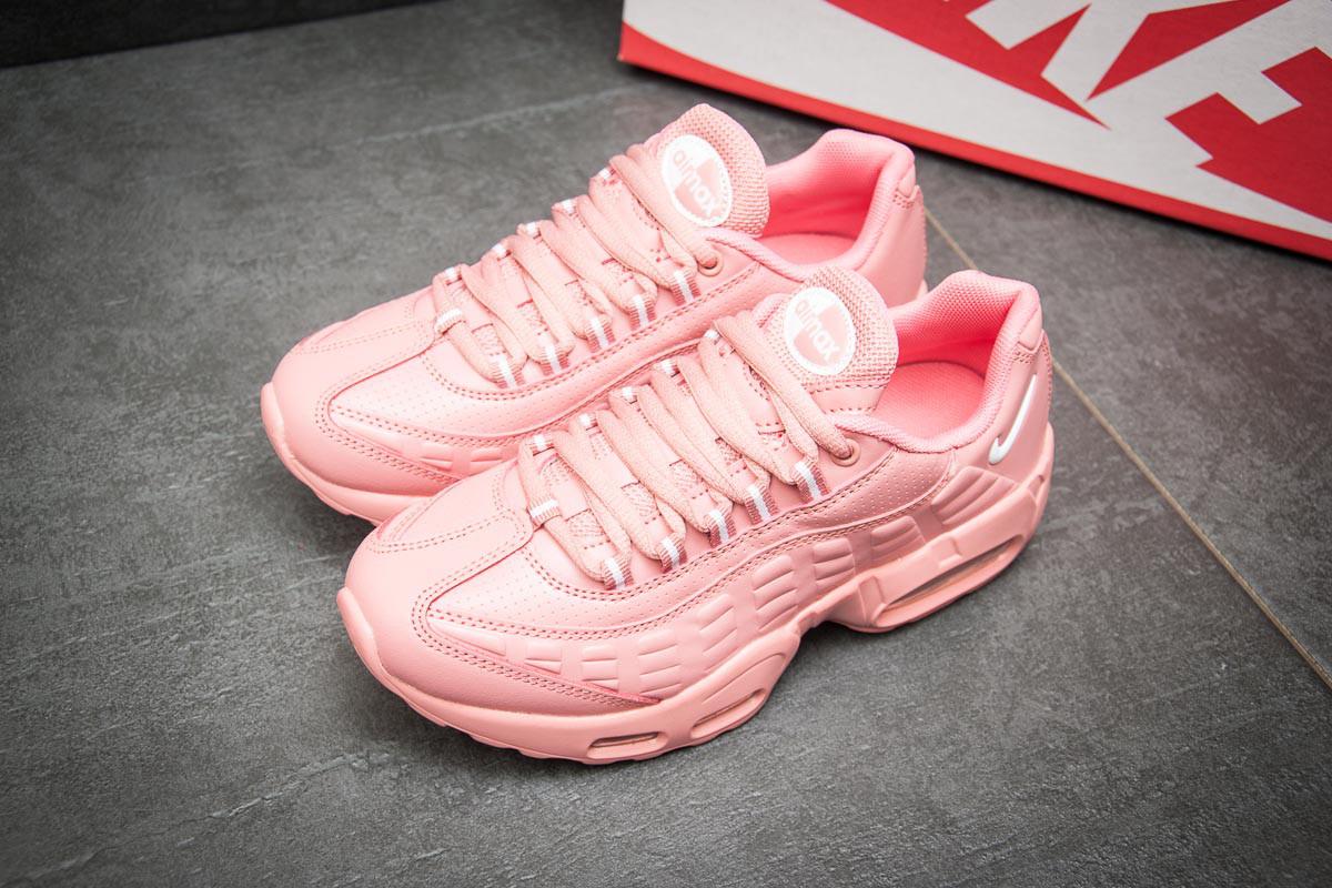 Кроссовки женские в стиле Nike AirMax 95, розовые (11466),  [  36 (пос