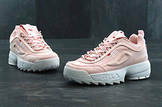 Женские кроссовки Fila Disruptor 2(II) Pink, фото 3