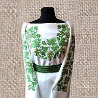 Женская сорочка бисером (нитками) ВМ-СЖ-03. Заготовка под вышивку.