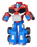 Трансформер Оптимус Прайм (Playskool Heroes Transformers Rescue Bots Optimus Prime Figure), hasbro, фото 1
