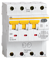 Автоматический выключатель дифф. тока АВДТ34 C32 30мА