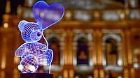 """3D Светильник """"Мишка с шариком"""" 3DTOYSLAMP"""