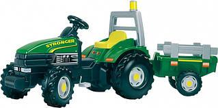 Педальний трактор з причепом Smoby TGM Stronger