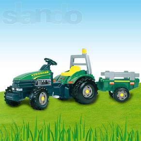 Педальный трактор с прицепом Smoby TGM Stronger, фото 2