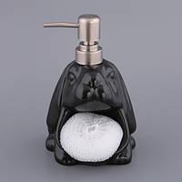 Набор для мыла с губкой Черный Бим Код: 653451277