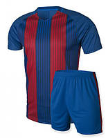 Футбольная форма Europaw, сине-красная , фото 1