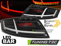 Фонари светодиодные AUDI TT (LED BAR) черные