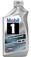 Mobil 1 Turbo Diesel Truck 5W-40 синтетическое моторное масло, 0,946 л (98HM64)