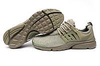 Кроссовки мужские Nike Air Presto, хаки (11512), р. 41 42 43 44