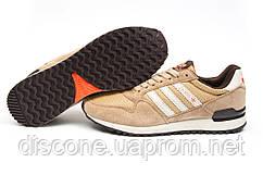 Кроссовки мужские Adidas ZX500, бежевые (11532), р. 41 42 43 44 45 46