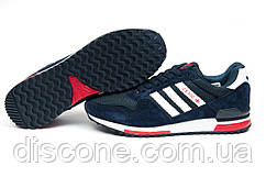 Кроссовки мужские Adidas ZX500, синие (11533), р. 42 43 44 45 46