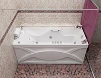 Гидромассажная ванна с врезным смесителем Triton Диана, 1700х750х655 мм