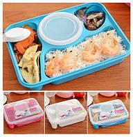 Пластиковый судочек lunch box с отделением для супа