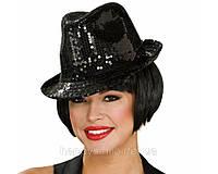 Шляпа «Гангстера» с блестками Код: 653576026