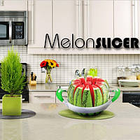 Melon Slicer, красиво разрежет арбуз или дыню на 12 ломтиков! Код: 653576041