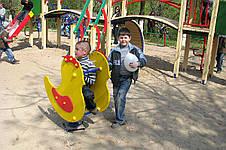 """Детская качалка на пружине """"Цыпленок"""", фото 3"""