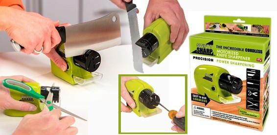 Без проводная электрическая точилка для ножей Swifty Sharp