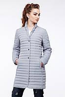 Женская демисезонная удлиненная курточка Гледис