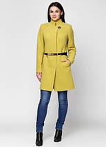 Женское пальто классика ворот стойка -1277, фото 3