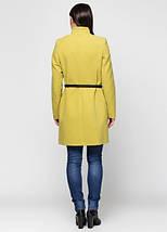 Женское пальто классика ворот стойка -1277, фото 2